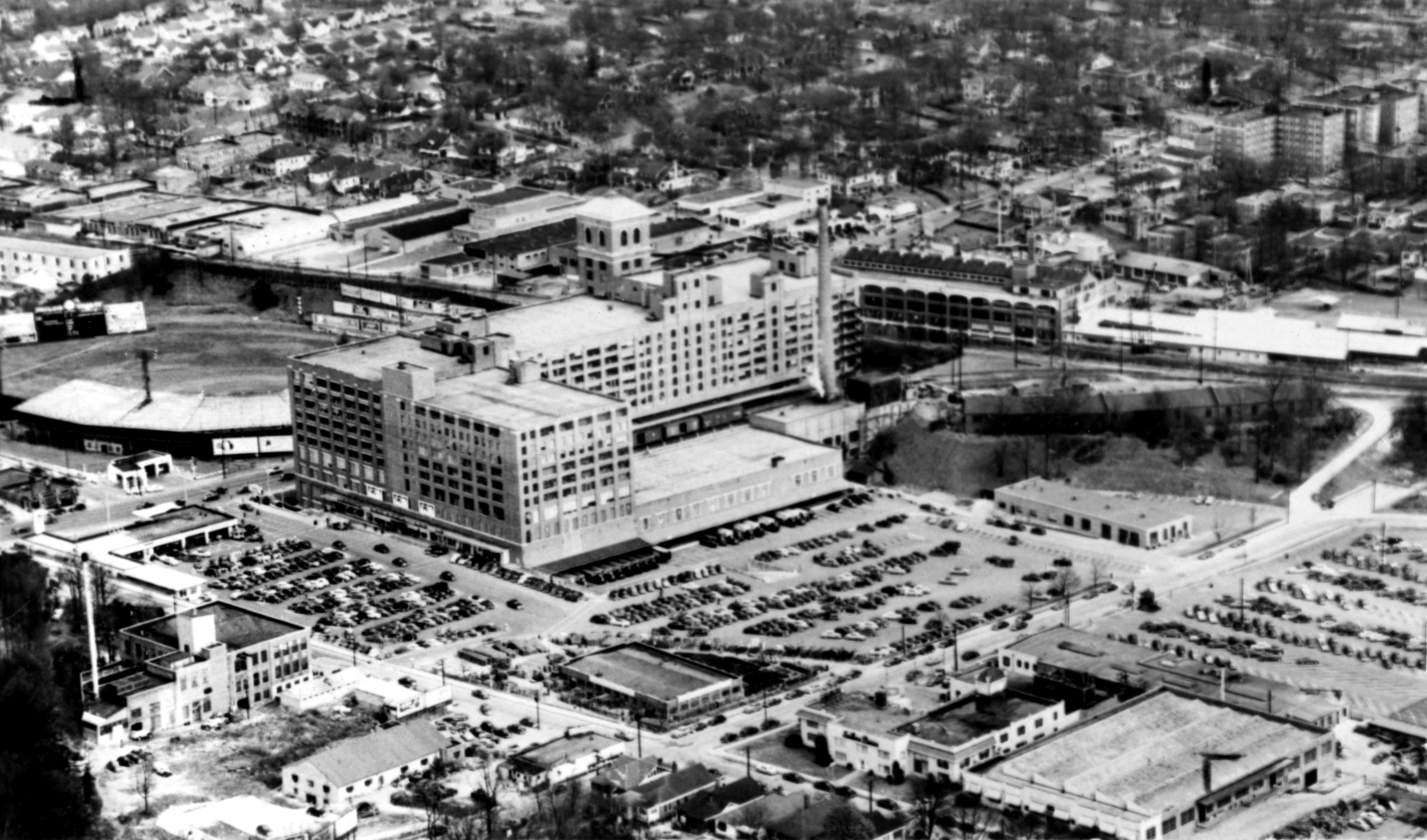 Aerial View 1953