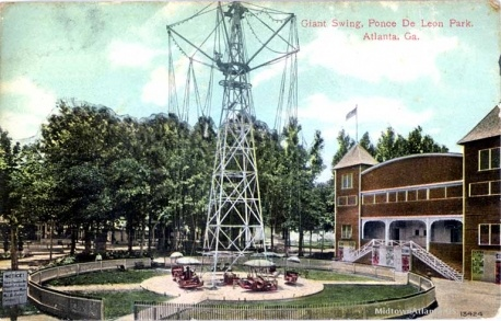 Post Card from Ponce Amusement Park 1908