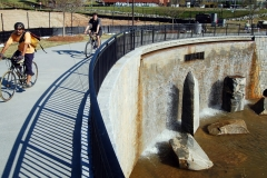Waterfall with Bikes