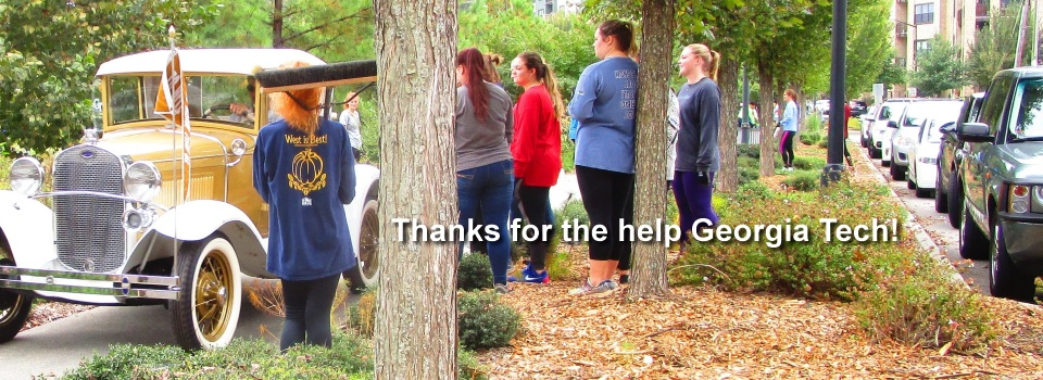 Thanks to GA Tech volunteers October 14, 2017